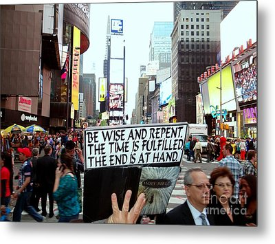 The End Is At Hand Metal Print by Ed Weidman