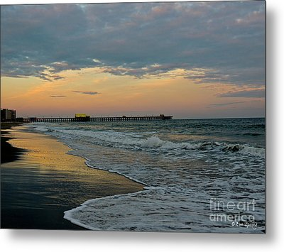 The End Of The Day Metal Print by Eve Spring