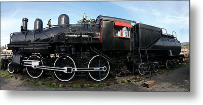 The Engine Metal Print