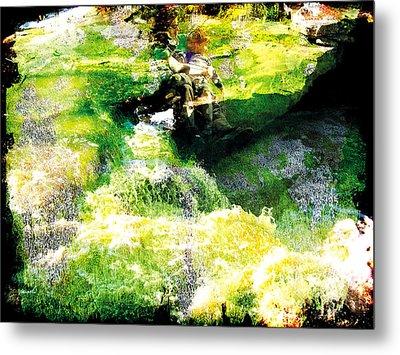 Metal Print featuring the photograph The Entanglement 5 by The Art of Marsha Charlebois