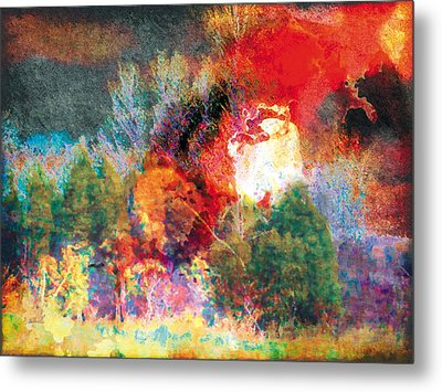Metal Print featuring the photograph The Entanglement 7 by The Art of Marsha Charlebois
