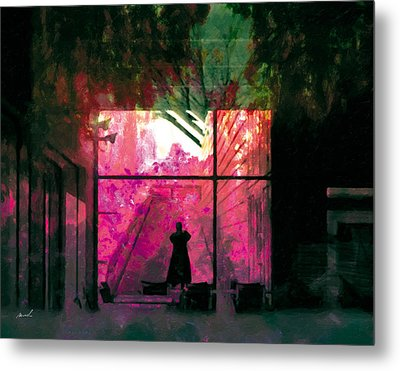 Metal Print featuring the photograph The Entanglement 8 by The Art of Marsha Charlebois