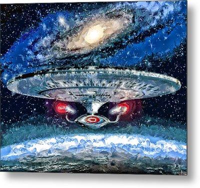 The Enterprise Metal Print by Joe Misrasi