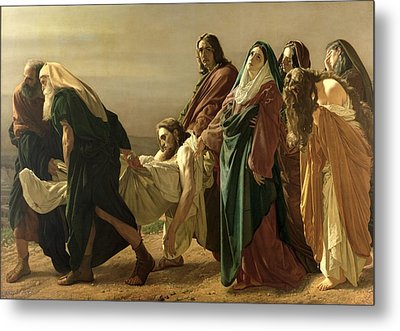 The Entombment, 1883 Metal Print