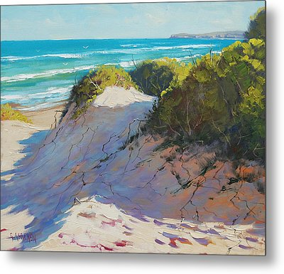 The Entrance Dunes Metal Print