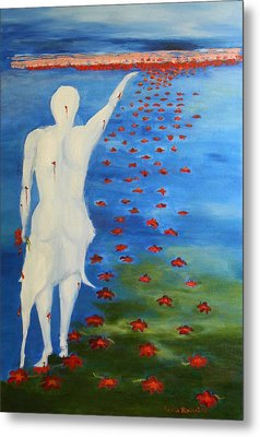 The Eternal Quest For Happiness  Metal Print by Geeta Biswas