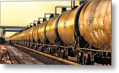 The Ethanol Train Metal Print by Bill Kesler