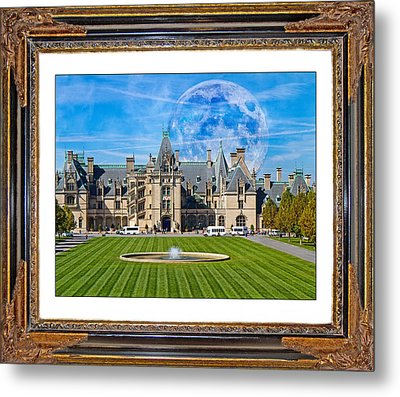 The Evening Begins At Biltmore Metal Print by Betsy Knapp