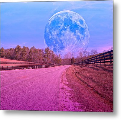 The Evening Begins Metal Print by Betsy Knapp