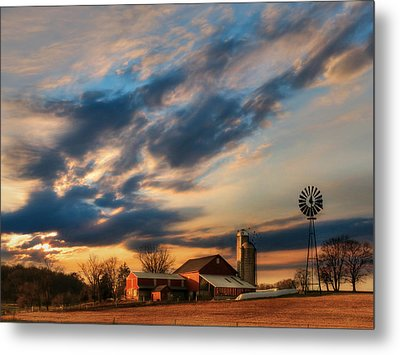 The Evening Breeze Metal Print by Lori Deiter