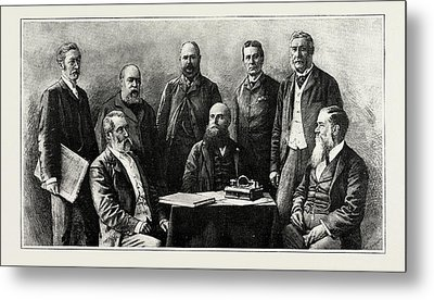 The Executive Council Of Western Australia, 1889 Hon. J.g Metal Print by Litz Collection