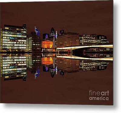 The Exotic Skyline Metal Print by Pete Reynolds
