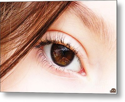The Eye Metal Print by Dheeraj B