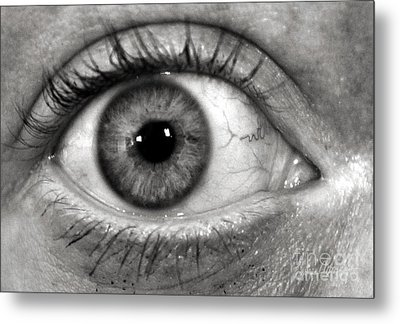 The Eye Metal Print by Luke Moore
