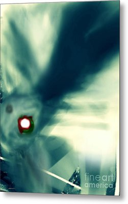 The Eye Of The Storm Metal Print by Rc Rcd