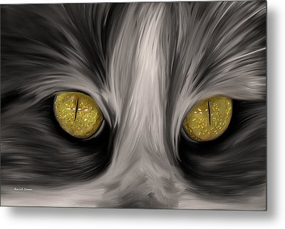 The Eyes Have It Metal Print by Angela A Stanton