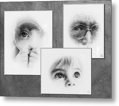 The Eyes Have It Metal Print by Gun Legler