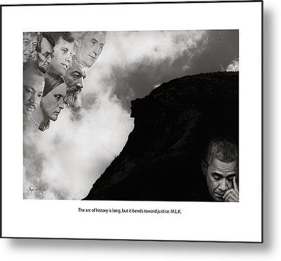 The Eyes Of History Metal Print