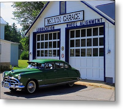 The Fabulous Hudson Hornet Metal Print