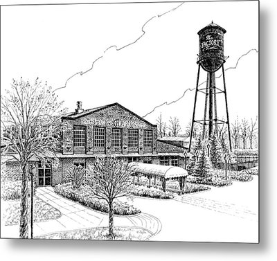 The Factory In Franklin Tennessee Metal Print by Janet King
