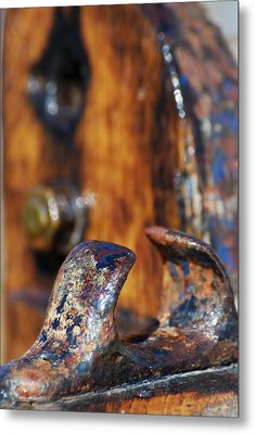 The Fairlead Metal Print by Wendy Wilton