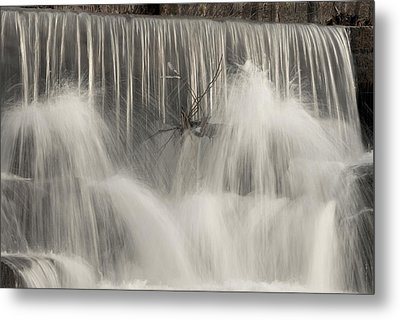 The Falls Metal Print by Cindy Rubin