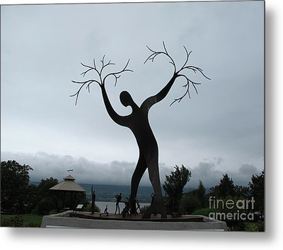 The Family Of Man Metal Print by Andre Paquin