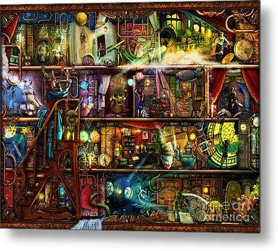 The Fantastic Voyage Metal Print