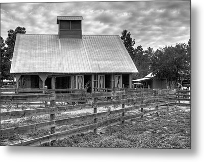 Metal Print featuring the photograph The Farm by Dawn Currie