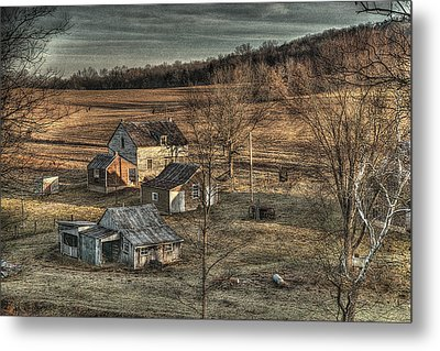 The Farmer In The Dell Metal Print by William Fields