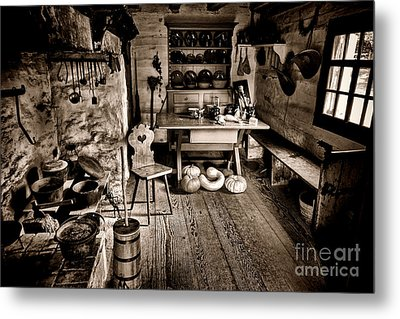 The Farmstead Metal Print by Olivier Le Queinec