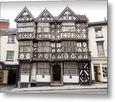 The Feathers Hotel In Ludlow Metal Print by Ashley Cooper