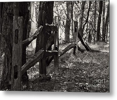 The Fence Metal Print by JRP Photography