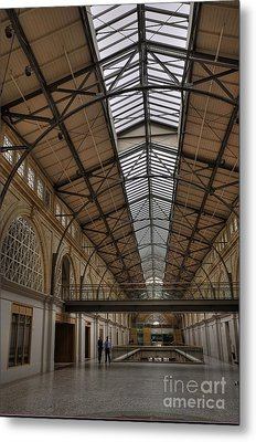 The Ferry Building Metal Print by David Bearden