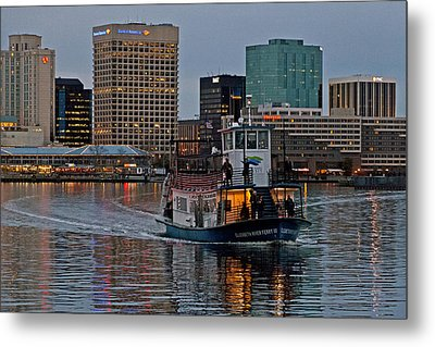 The Ferry To Portsmouth Metal Print
