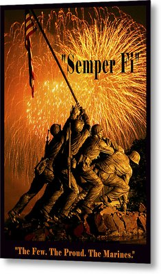 The Few The Proud The Marines Metal Print by Government Photographer