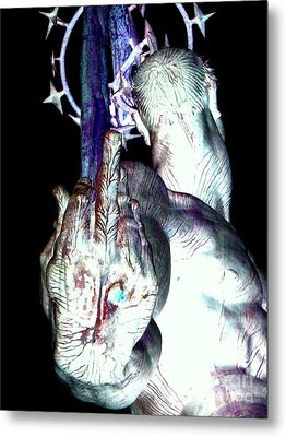 The Finger Metal Print by Ed Weidman