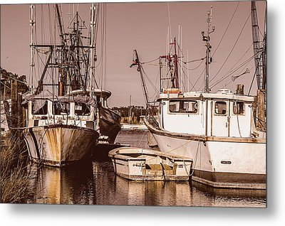 The Fisherman's Office Metal Print
