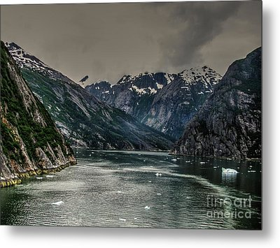 The Fjord Metal Print