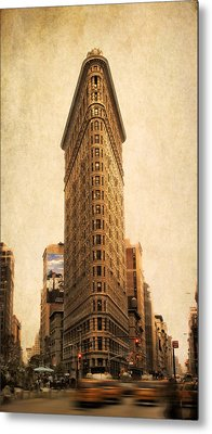 The Flatiron Building Metal Print by Jessica Jenney
