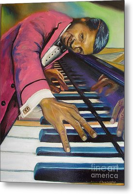 The Flavor Of Erroll Garner Metal Print