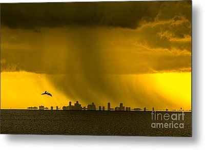The Floating City  Metal Print