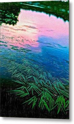 The Flow - Paint Metal Print