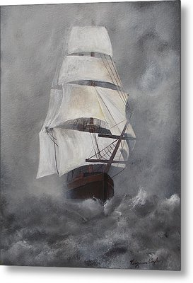The Flying Dutchman Metal Print