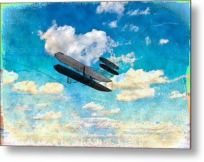 The Flying Machine Metal Print by Bill Cannon
