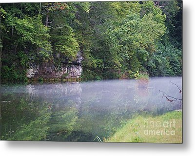 Metal Print featuring the photograph The Fog Of Late Summer by Julie Clements