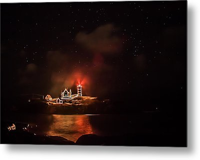 Metal Print featuring the photograph The Fog Rolls In by Jeff Folger