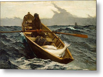The Fog Warning Metal Print by Winslow Homer