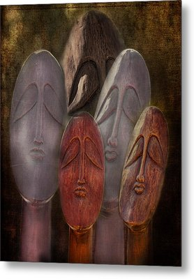 The Following Metal Print by Terry Fleckney