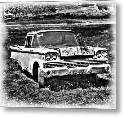 Metal Print featuring the photograph The Ford Ranchero by William Havle